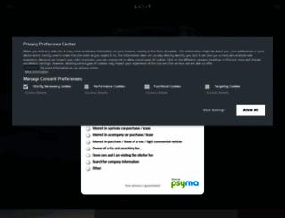 kia.co.uk screenshot