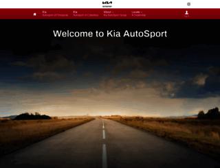 kiaautosporttallahassee.com screenshot