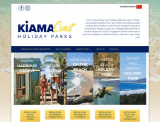 kiamacoast.com.au screenshot