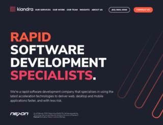 kiandra.com screenshot