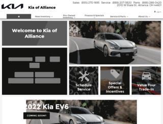 kiaofalliance.com screenshot