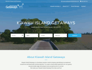 kiawahislandgetaways.com screenshot