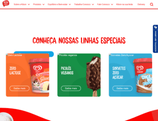 kibon.com.br screenshot
