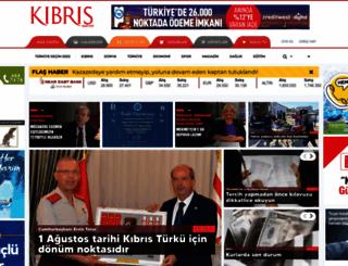 kibrisgazetesi.com screenshot