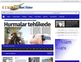 kibrismavihaber.net screenshot