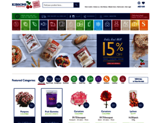 kibsons.com screenshot