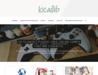 kicadlib.org screenshot