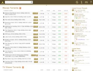 kickasstorrent1080.com screenshot