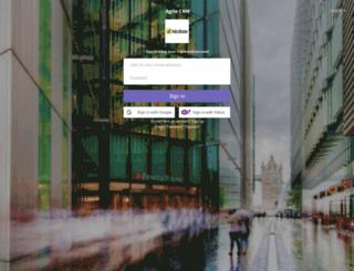 kickbox.agilecrm.com screenshot