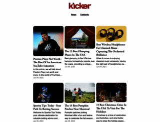 kickerdaily.com screenshot