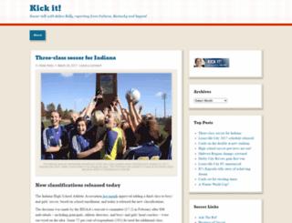 kickitblog.wordpress.com screenshot