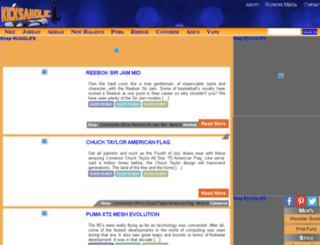 kicksaholic.com screenshot