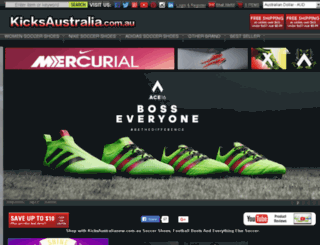kicksaustralianew.com.au screenshot