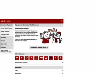 kicktipp.de screenshot