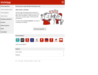 kicktipp.es screenshot