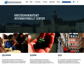 kicsweden.org screenshot