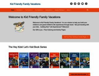 kid-friendly-family-vacations.com screenshot