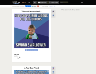 kid-reaction.quickmeme.com screenshot