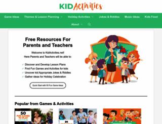 kidactivities.net screenshot