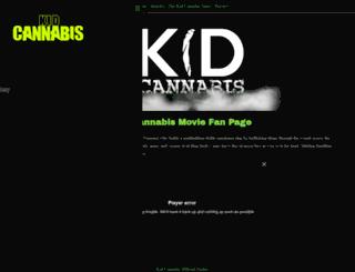 kidcannabis.com screenshot