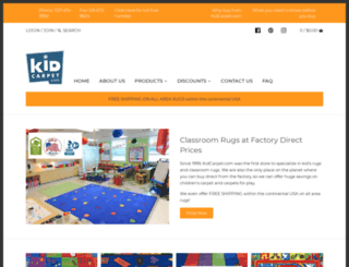 kidcarpet.com screenshot