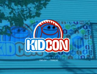 kidconmtl.com screenshot