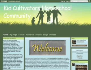 kidcultivatorsatlhomeschool.ning.com screenshot