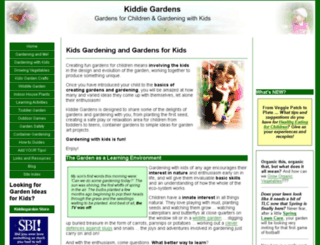kiddiegardens.com screenshot