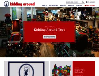 kiddingaroundtoys.com screenshot