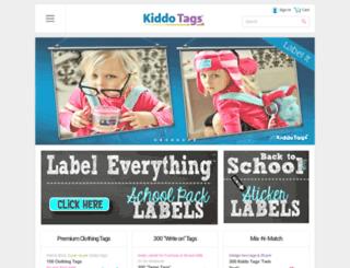 kiddotags.com screenshot