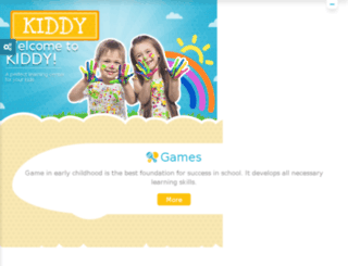 kiddy.creaws.com screenshot