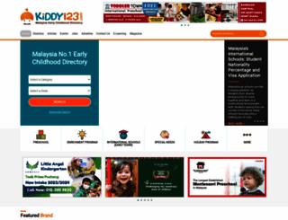kiddy123.com screenshot