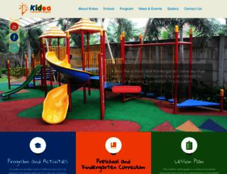 kidea.sch.id screenshot