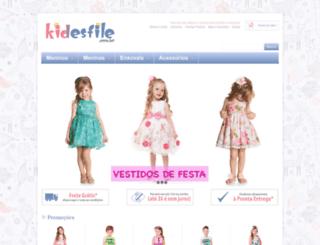 kidesfile.com.br screenshot