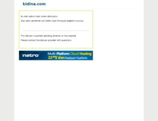 kidina.com screenshot