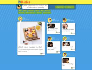 kidis.com screenshot