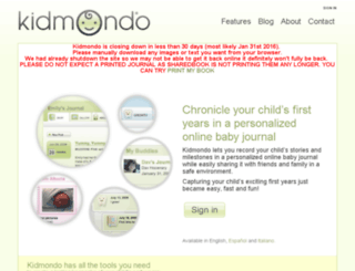 kidmondo.com screenshot