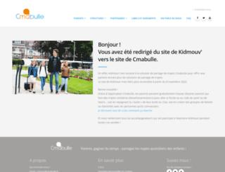 kidmouv.fr screenshot