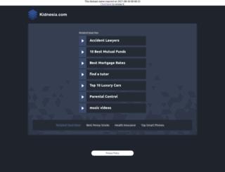 kidnesia.com screenshot