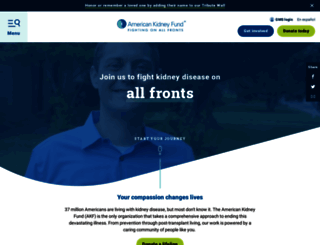 kidneyfund.org screenshot