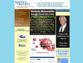 kidneyurology.org screenshot