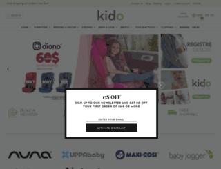 kidobaby.ca screenshot