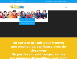 kidom.fr screenshot