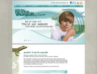 kidonvacation.com screenshot