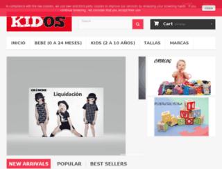 kidos.es screenshot