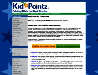 kidpointz.com screenshot