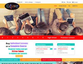 kidport.com screenshot