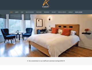 kidronhousehotel.co.uk screenshot