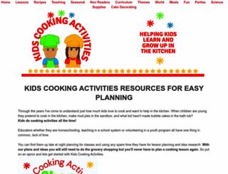 kids-cooking-activities.com screenshot