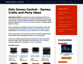 kids-fun-and-games.com screenshot